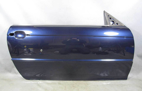 Bmw E46 3 Series 2door Right Passenger Outer Door Body Shell Orient Blue 00 06
