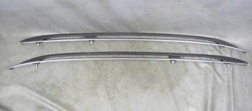 BMW E83 X3 SAV Factory Roof Rail Railings Rack w Mouldings Black 2004-2010 USED