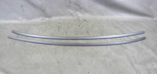 BMW E63 6-Series Coupe Exterior Gutter Roof Trim Strips Space Grey Left Right OE