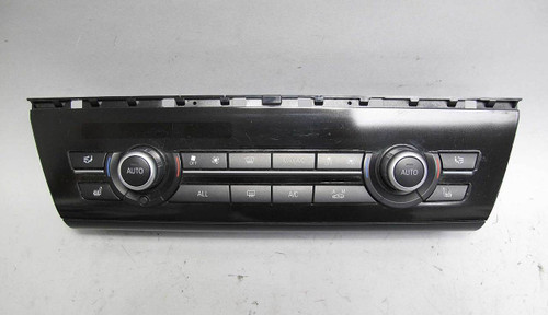 BMW F10 5-Series Sedan Early Climate Control Interface Panel for Automatic  AC OE