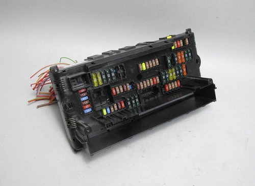 bmw f10 5-series f01 early front dashboard fuse distribution electrical box  wire - prussian motors