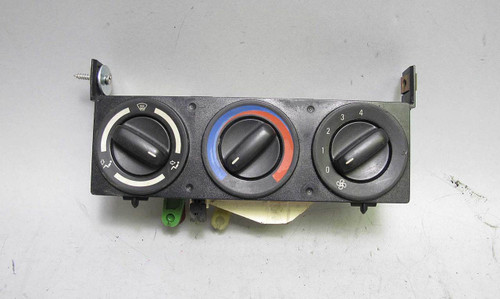 BMW Z3 Roadster Coupe Climate Control Unit Face Panel w Knobs Factory 1996-2002