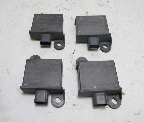 06-08 BMW Tire Pressure Monitoring Receiving TPMS Antenna Set of 4 6771042 USED