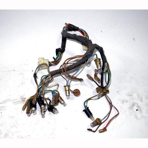 1968-1974 BMW E9 2800CS 3.0CS Coupe Instrument Cluster Wiring Harness on battery gauge, vacuum pump gauge, spark plug gauge, fuel pressure regulator gauge,