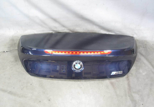 08-10 BMW E64 6-Series Convertible Rear Trunk Deck Boot Lid Panel Monaco Blue OE - 20909