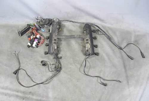 1994-1995 bmw e34 530i 540i m60 v8 engine wiring harness for manual  transmission - 16051 - prussian motors
