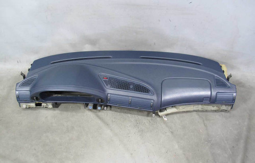 1995-2001 BMW E38 750 Stitched Vinyl Leathette Marine Blue Dashboard w Vents OEM - 21574