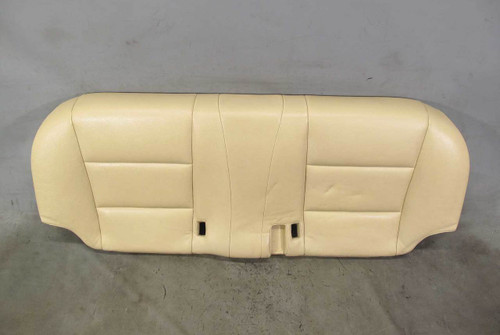 2011-2013 BMW F10 5-Series Sedan Early Rear Seat Bottom Bench Venetian Beige OE - 21577