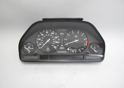 1992-1995 BMW E34 5-Series Late Model Instrument Gauge Cluster Speedo Tach OEM - 22391