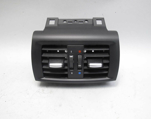 2011-2017 BMW F25 X3 F26 X4 Rear Center Console Fresh Air Outlet Vent Black OEM - 22656