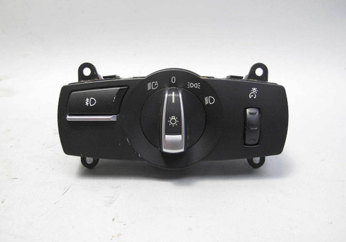 2010-2015 BMW 5-Series 7-Series Basic Headlight Lighting Control Switch Scratch - 22661