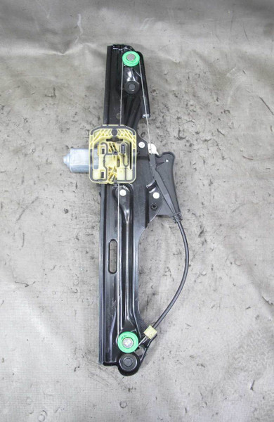 2014-2017 BMW F25 X3 SAV Left Rear Drivers Window Regulator Lifter w Motor OEM - 22665