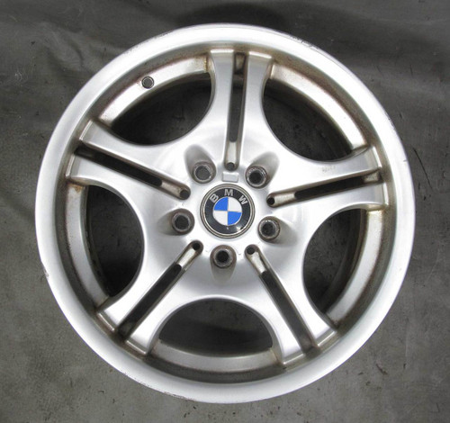 "BMW E46 E36 17"" Style 68 ///M Double-Spoke Front 17x7.5 Wheel 1992-2006 OEM - 22751"