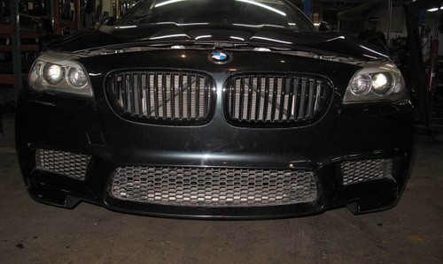 Aftermarket 2013-2016 BMW F10 M5 Front Bumper Cover Trim Singapore Grey - 22909