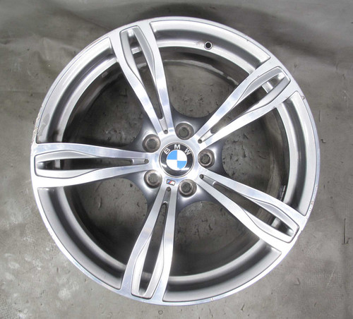 2013-2016 BMW F10 M5 Sedan Factory 20x9 Front ///M Double-Spoke Style 343 Wheel - 23242