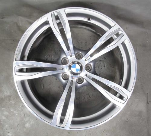 2013-2016 BMW F10 M5 Sedan Factory 20x9 Front ///M Double-Spoke Style 343 Wheel - 23242