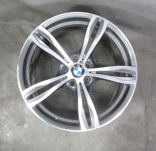 2013-2016 BMW F10 M5 Sedan Factory 20x10 Rear ///M Double-Spoke Style 343 Wheel - 23243