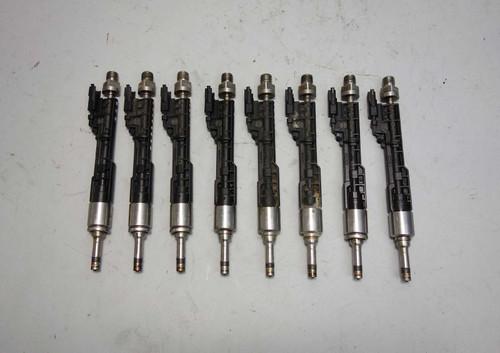 2013-2016 BMW F10 5-Series F12 N63N S63N V8 Direct Fuel Injector Set of 8 EU5 OE - 23592