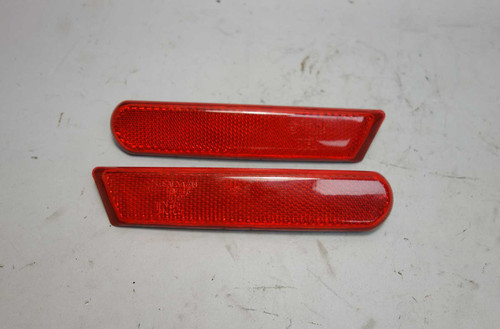 2000-2002 BMW Z3 Rear Bumper Side Marker Red Reflector Left Right Pair NLA OE - 23594