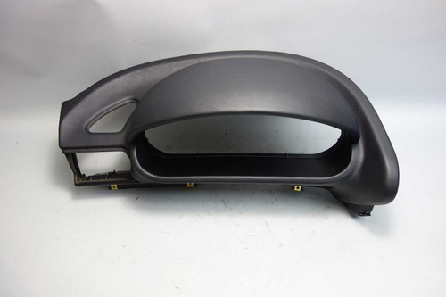 1996-2002 BMW Z3 Factory Left Driver's Dashboard Insert Trim Dome Cluster Black - 23595