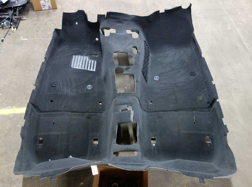 2000-2002 BMW Z3 Roadster Factory Floor Covering Carpet Set Black OEM - 23601