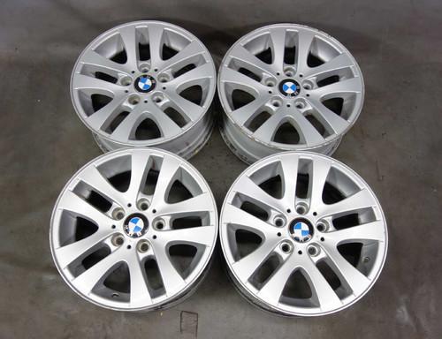 "BMW E90 E91 3-Series 16x7 16"" Style 156 Double-Spoke Factory Alloy Wheel Set 4 - 23609"