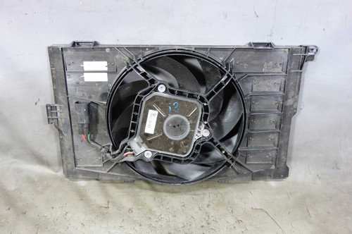 2014-2015 BMW i01 i3 Early Engine Cooling Radiator Electric Fan w Shroud OEM - 24006
