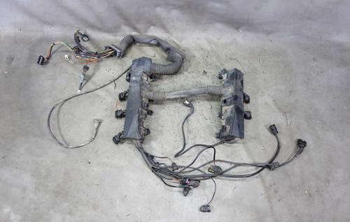bmw 2 8 engine wire harness damaged bmw e39 540i m62tu v8 engine wiring harness complete oem  damaged bmw e39 540i m62tu v8 engine