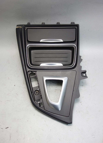 12-17 BMW F30 3-Series F32 4-Series Front Center Console Trim Cover Cup Holder - 24599