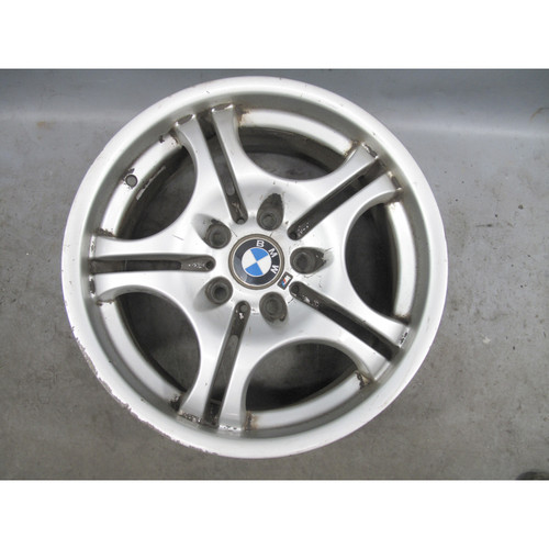 """BMW E46 E36 17"""" Style 68 Double-Spoke Front Staggered 17x7.5 Wheel 1992-2006 OEM - 24602"""