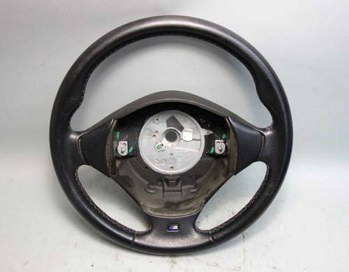 1997-1999 BMW E36 3-Series Z3 Factory M Sport 3-Spoke Steering Wheel Black OEM - 24610