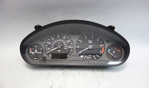 1997-1999 BMW E36 3-Series Instrument Gauge Cluster Panel Speedo Tech MPH OEM - 24611