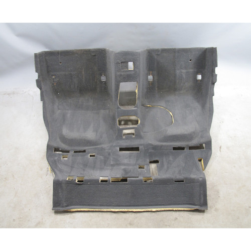 1999 BMW Z3 2.8 M3.2 Coupe Factory Rear Floor Covering Carpet Black OEM - 24965