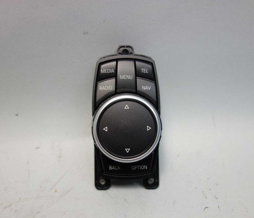 14-17 BMW F30 3-Series F10 F01 Controller Knob for Infotainment NBT Navigation - 25012