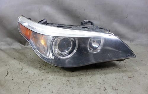 2005-2007 BMW E60 5-Series E61 Right Front Xenon Adaptive Headlight White Lens - 25026