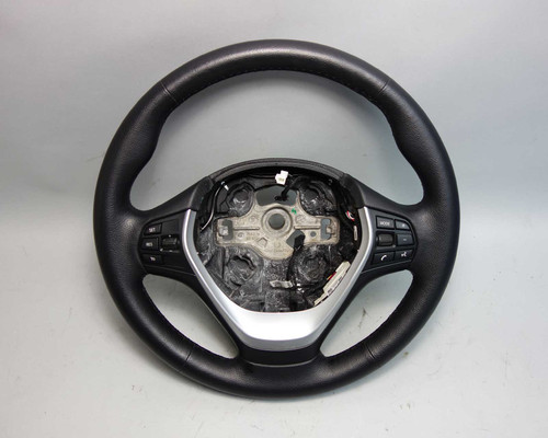 2012-2015 BMW F30 3-Series F22 Factory Standard Steering Wheel w Heat OEM - 25033