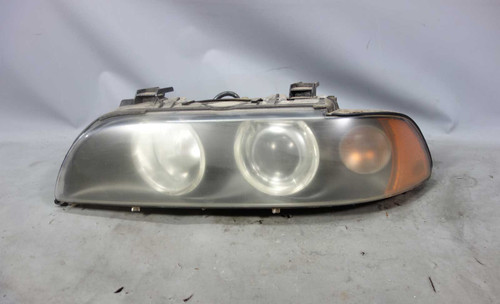 2001-2003 BMW E39 5-Series Factory Left Front Drivers Xenon Headlight White OEM - 25373