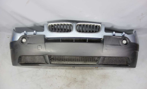 2004-2006 BMW E83 X3 SAV Factory Front Bumper Cover Trim Blue Water Headlight OE - 25409