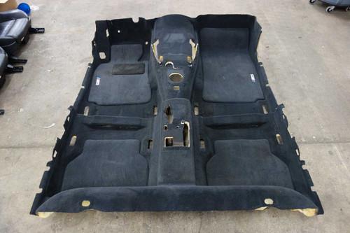 BMW E39 M5 ///M Factory Floor Covering Carpet Set Black Anthrazit 2000-2003 OEM - 25670
