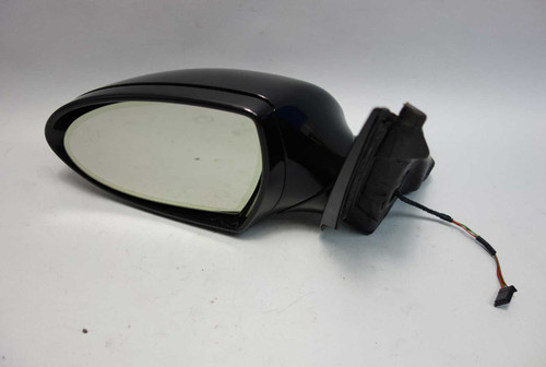 2006-2008 BMW E60 M5 Sedan Left M Power-Fold Outside Side Mirror Black Sapphire - 26022