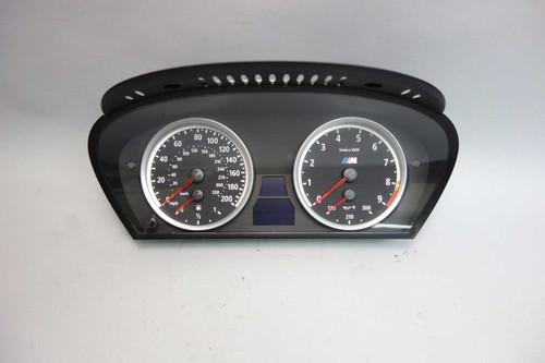 BMW E60 M5 E63 M6 Instrument Gauge Cluster Panel MPH Speedo Tach 105K 2006-2010 - 26025