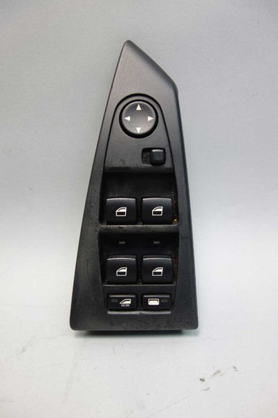 2006-2010 BMW E64 6-Series Convertible Left Master Window Switch w Scratches OEM - 26026