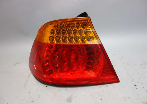 Damaged 2003-2006 BMW E46 3-Series Convertible Left Rear Outer Tail Light LED - 26389