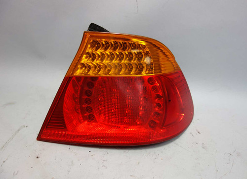 Damaged 2003-2006 BMW E46 3-Series Convertible Right Rear Outer Tail Light LED - 26390