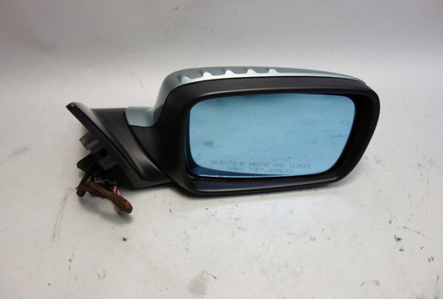 2000-2003 BMW E46 3-Series 2door Right Outside Side Mirror Grey Green Memory OEM - 26396