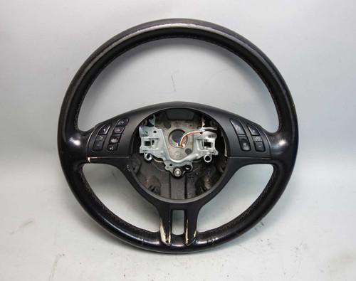 BMW E46 3-Series Factory Sports Steering Wheel w Multifunction 2000-2006 OEM - 26399