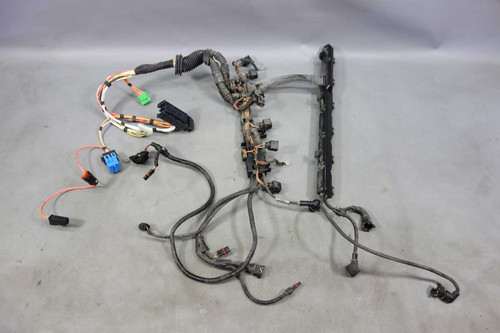 2008-2010 BMW E60 528i N52 6-Cyl Ignition Coil Injector Engine Wiring Harness OE - 26556