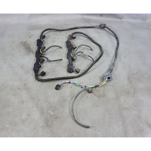 2004-2006 BMW E53 X5 N62 4.4i 4.8is Engine Fuel Injector Wiring Harness OEM - 27204