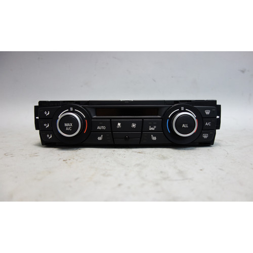 2012-2015 BMW E90 3-Series E82 Automatic Climate Control Interface Panel Heat - 27980