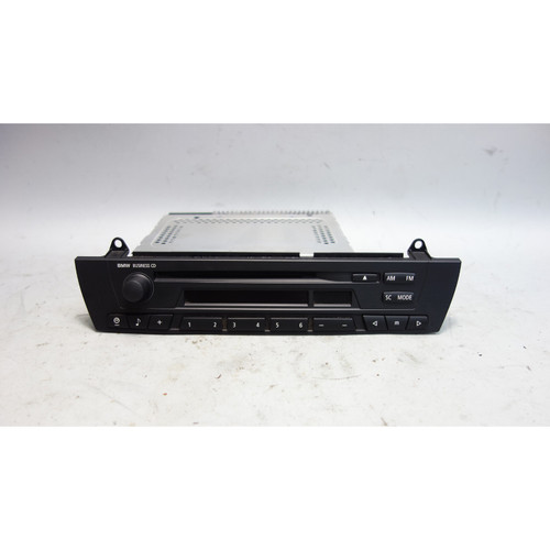 2005 BMW E83 X3 SAV Z4 Factory Business CD Radio w Damaged Drive Head Unit - 28562